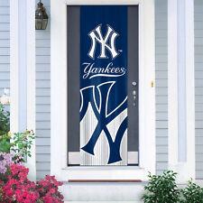 "New York Yankees Door Banner 84"" [New] Flag Sign Uv Adjustable Cdg"