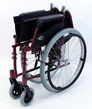 High Strength Ultra Light Weight  Wheelchair Folding Red Karman LT-980-BD NEW