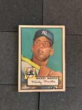 1952 Topps Mickey Mantle Rookie Baseball Card #311