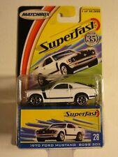 Matchbox Superfast 2004  -  1970 Ford Mustang Boss 302 Nr 28 NEU-OVP