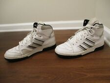 Used Worn Size 13 Adidas Conductor Hi Shoes White Silver Black