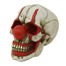 Clown Skull Figurine Statue Skeleton Halloween