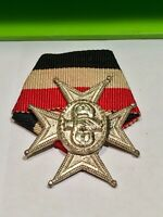 Abzeichen Deutscher Kriegerbund Handschlag Kreuz Alt Garde Kavallerie Preußen