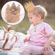 Baby Girl Tiara Princess Headwear Lace Accessories Headband Crown Hair Band