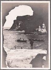VINTAGE PHOTOGRAPH 1920'S TOKYO JAPAN BOATS FISHING FASHION OF ERA OLD PHOTO