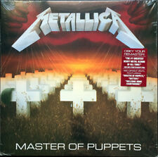 METALLICA MASTER OF PUPPETS (REMASTERED 2017) VINILE LP 180 GRAMMI NUOVO