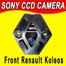 night version parking front view logo car camera for renault koleos dual cam len