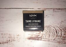 NYX Tame & Frame Tinted Brow Pomade Waterproof color TFBP01 Brunette 0.18 oz