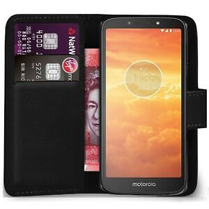 For motorola Moto One power Case Cover Magnetic Flip Leather Wallet Phone