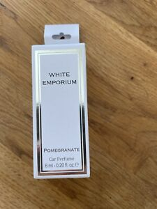White Emporium Car Perfume/Air Freshener Pomegranate