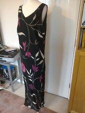 Ladies Long Summer/ Evening Sleeveless Dress - size 18