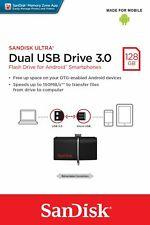 Sandisk 128GB Ultra Dual Drive Micro USB OTG USB 3.0 Flash Stick 128 GB PenDrive