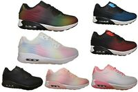 Junior Running Trainers Kids School Sport Air Cushion Comfy Lace-up Sneaker Size