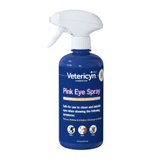Vetericyn Plus Pink Eye Spray 16 oz.  This is what your Vet uses. - It works.