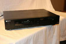 Sony St-S550Es Am/Fm Tuner-Mono/Stereo Tuner-Sony Es Made in Japan