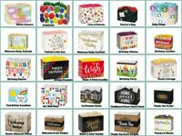 """Special Occasion Gift SMALL Basket BOX Size 6-3/4""""x4""""x5"""" Choose Design"""