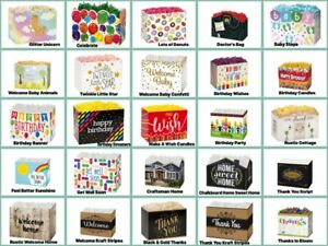 """Special Occasion Gift LARGE Basket BOX Size 10-1/4"""" x 6"""" x 7-1/2"""" Choose Design"""