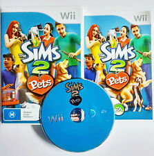 Mint Disc Nintendo Wii The Sims 2 Pets Free Postage From Melbourne