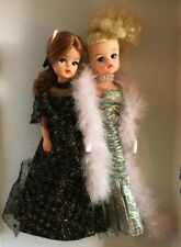 Vintage Pedigree Sindy Dolls wearing Premiere 1985 and Gala Night outfits Lot 2