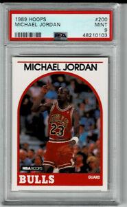 1989-90 Hoops Michael Jordan #200 PSA 9 MINT