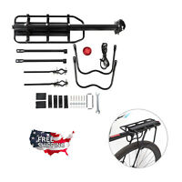 Bicycle Carrier Rear Rack Fender Luggage Rack Quick Release Metal Pannier--USA!!