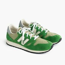 Men's New Balance for J.Crew 520 sneakers in hairy suede, Color Cactus, 9.5, NWB