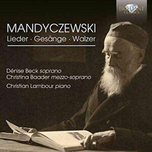 Mandyczewski: Lieder, Gesänge and Waltzes