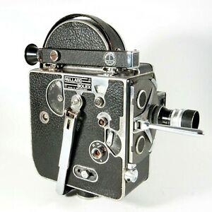 ✅ Paillard Bolex H8 Deluxe Movie Camera 8mm From 1957 With 13mm Standard Lens