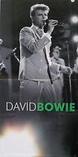 "DAVID BOWIE Poster UK Retail 24"" x 12"" On Stage  Monochrome Mint-"