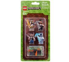 LEGO MINECRAFT 853610 MINIFIGUREN Hüllen Set 2 Skin Pack Figur NEU OVP / NEW