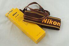 Genuine Nikon Neckstrap AN-6W Neck Shoulder Pro Strap Digital SLR Camera