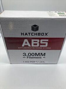 HATCHBOX ABS 3.00 mm 3D Printer Filament in Green, 1kg Spool