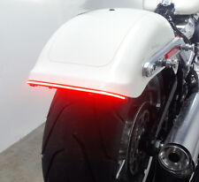 LED Run/Brake/Turn Light Bar for H-D Softail Fat Boy 2018 and up - Smoked Lens