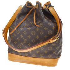 Authentic LOUIS VUITTON Noe GM Shoulder Bag Monogram Leather BN M42224 84MD657