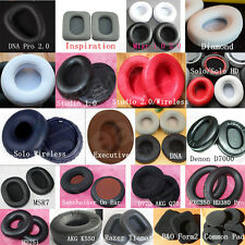Replacement Ear Pads Cushion Cover For Headphone Headset Earphone Leather Velour