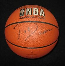 JOE DUMARS SIGNED SPALDING BASKETBALL DETROIT PISTONS HOF PSA/DNA COA