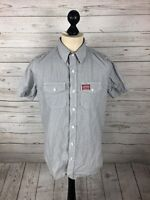SUPERDRY Shirt - Size Medium - Short Sleeved - Great Condition - Men's