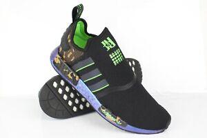 Adidas Men's NMD R1 x JuJu Smith Shoes Black Camo FZ5410