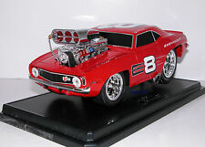 Muscle Machines 1969 Chevrolet Camaro Dale Earnhardt Jr. 69 Chevy NASCAR 1:18