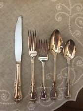 New ListingEight Oneida Chalice Harmony 5pc Place Settings Silver Plated Flatware In Boxes