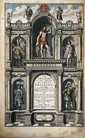 """Title Page - """"The Theatre of the Empire of Great Britaine' 1676 -John Speed"""