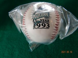1993 MIAMI Florida MARLINS Inaugural BASEBALL Memento Souvenir NIP