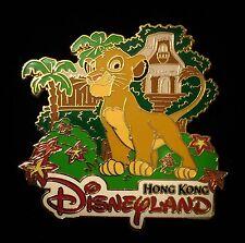 HKDL VIP Grand Opening Day LE 3000 Lion King Simba Hong Kong Disney Pin 41527