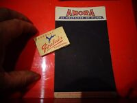Ancienne Ardoise Publiciatire Carton AMORA  Eponge Chocolat Poulain Déco BistroT