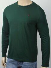 Polo Ralph Lauren Green Long Sleeve Classic Crewneck Tee T-Shirt NWT