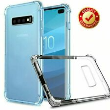Samsung Galaxy Protective Clear Gel Bumper Case Cover Note 8 9 10 S8 S9 S10 plus