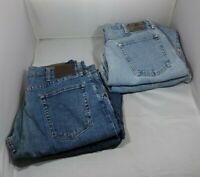 Lot of 4 Men's Wrangler Cotton Blue Denim Jeans Pants 36 X 29 Regular Fit
