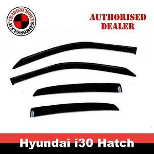 Weathershields, Weather Shields for Hyundai I30 PD Hatch 5D 17-20 Window Visors