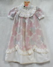 """Robe de cérémonie vintage 80's """"nuages"""" 5 / 6 ans"""