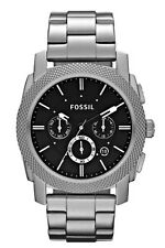 Fossil Watch * FS4776 Machine Chrono Black Dial Silver Steel COD PayPal